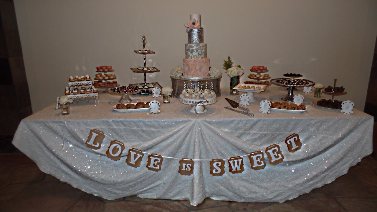 """Love Is Sweet"" Dessert Bar"